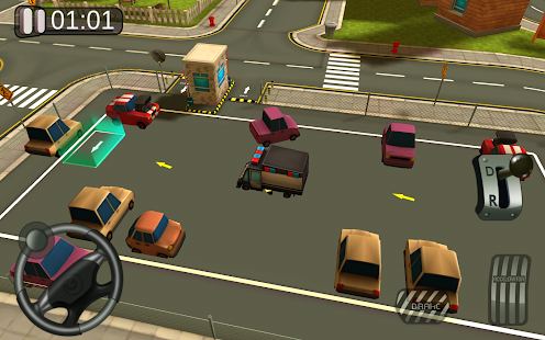 3D Car Parking Simulator Game - screenshot
