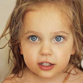 bathtime by Lucia STA - Babies & Children Child Portraits