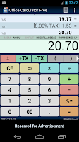 Screenshot of Office Calculator Free