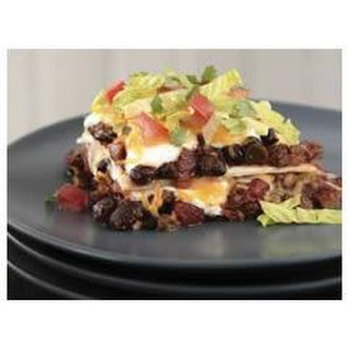 BREAKSTONE'S Creamy Layered Enchilada Bake