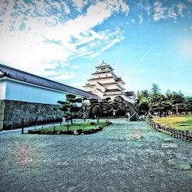 Tsurugajo Castle, Fukushima by Junot Pratama - Landscapes Travel ( japan, castle, fukushima )