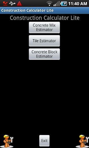 Construction Calculator Lite