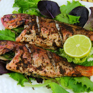 Simple Oven Jerk Fish Recipe.
