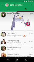 Screenshot of Hangouts