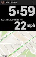 Screenshot of Clean CarDock