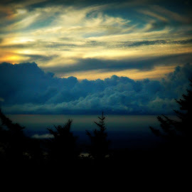 by Diana Fay - Landscapes Cloud Formations