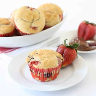 Strawberry Nutella Muffins