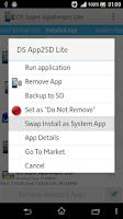 Screenshot of DS Super AppKeeper Lite