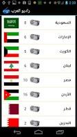 Screenshot of راديو العرب