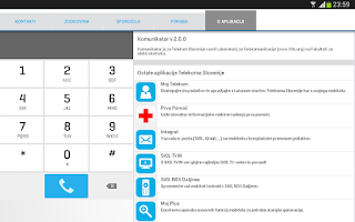 Screenshot of Komunikator