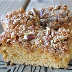 Butterscotch Snack Cake