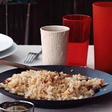 Rice and Noodle Pilaf with Toasted Almonds