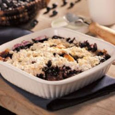 Apple Blueberry Cobbler