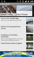Screenshot of Hampton Roads Traffic fromWVEC