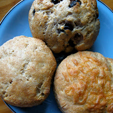 wholemeal yogurt scones - British style