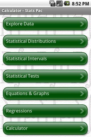 玩教育App|StatsPac - Graphing Calculator免費|APP試玩