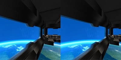 Screenshot of Refugio 3D Space Station