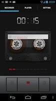 Screenshot of Sound Recorder