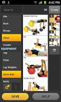 Screenshot of FitnessBuilder