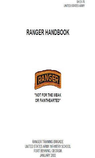 RANGER HANDBOOK 2000 SH 21-76