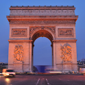 Paris Arc de Triomphe icon