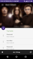 Screenshot of SpotCommander for Spotify