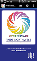 Screenshot of Pride Northwest