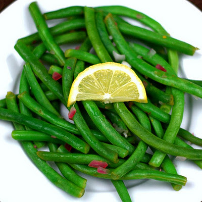 Green Beans with Lemon and Shallots