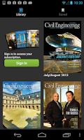 Screenshot of Civil Engineering Magazine