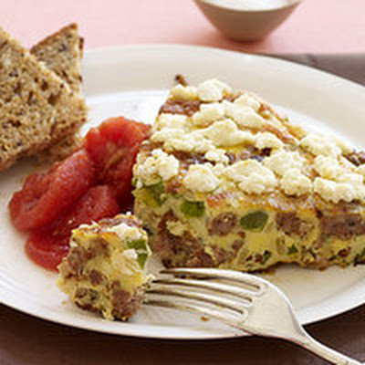 Sausage-and-Pepper Frittata