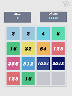 2048 - About Number Merge - screenshot