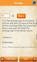 Screenshot of Bank Exam Q & A