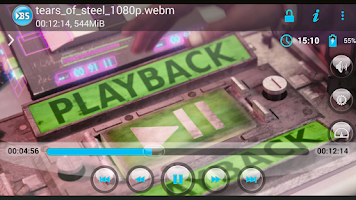 Screenshot of BSPlayer ARMv7 VFP CPU support