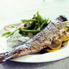 Tangy Trout With A Simple Garden Salad
