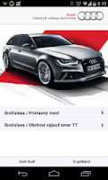 Screenshot of Audi Traffic Info