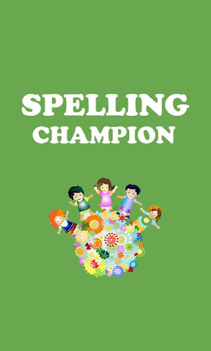 Spelling Test Champion