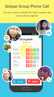 Screenshot of Qtalk - Smart & Private Comm.
