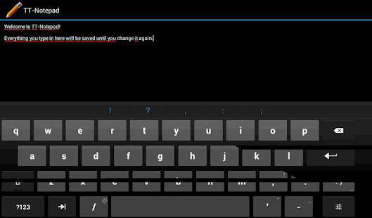 TT-Notepad - screenshot