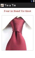 Screenshot of Tie A Tie