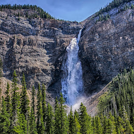 by Sandy Friedkin - Landscapes Mountains & Hills ( mountain, waterfall,  )
