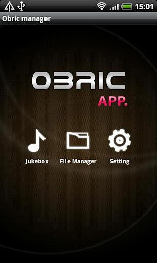 Obric app