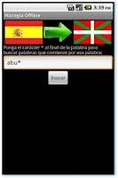 Screenshot of Hiztegia Offline