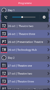 Patient First Conference App - screenshot
