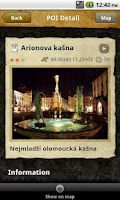 Screenshot of OLINA - Olomouc Minos Guide