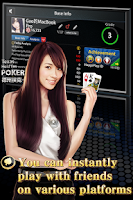 Screenshot of Hi Poker - Texas Holdem Saga