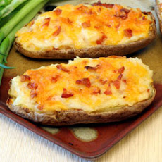 Ultimate Twice Baked Potatoes by Dannon Oikos®