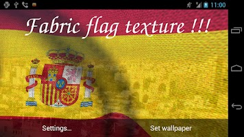 Screenshot of 3D Spain Flag Live Wallpaper