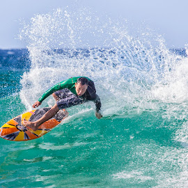 Surfing by Sue Niven - Sports & Fitness Surfing ( surfing, gold coast, surfboard, waves, man )