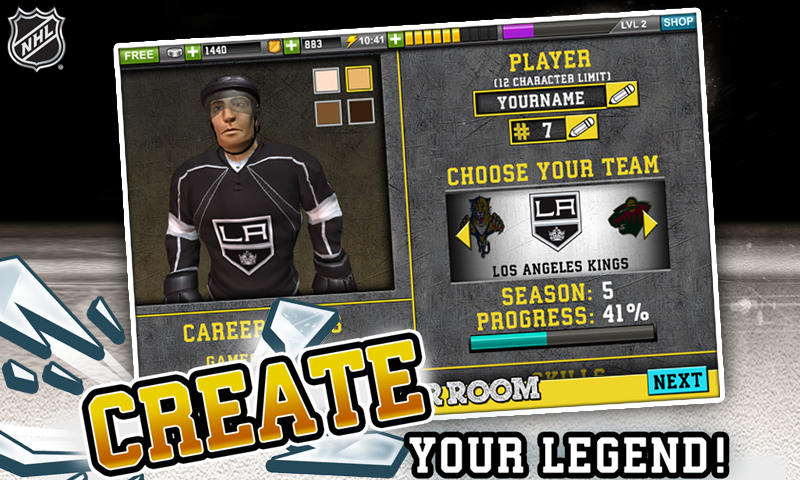 NHL Hockey Target Smash Screenshot 3