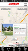 Screenshot of MLS PRO Real Estate